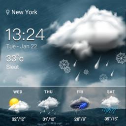 Скачать Виджет прогноза погоды