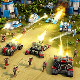 Скачать Art of War 3 PvP RTS стратегия - военная игра