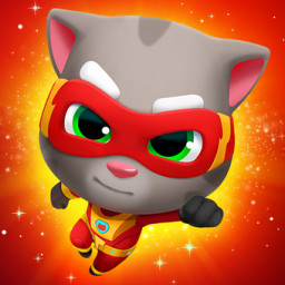 Скачать Talking Tom Hero Dash - Run Game