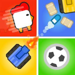 Скачать Игры на двоих троих 4 игрока - змея,танки,Футбол